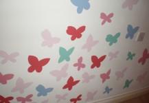 Butterflies Mural