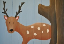 Woodland Reading Corner Mural