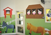 Farm Animals Mural