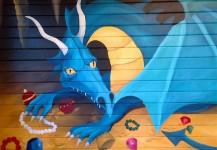Dragons Mural