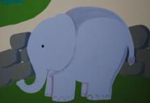 Zoo Animals Mural