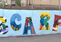 School Values Mural